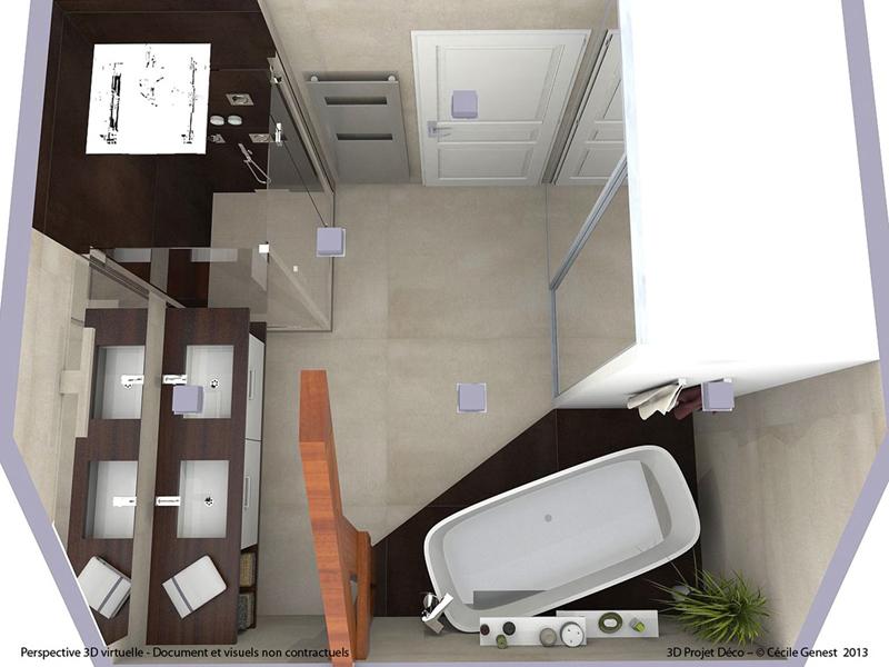 Simulateur 3d salle de bain cheap d en ligne de salles de for Simulateur sdb