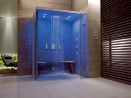 salle de bain rennes espace douche douche italienne pluie tropicale zone sensorielle la. Black Bedroom Furniture Sets. Home Design Ideas