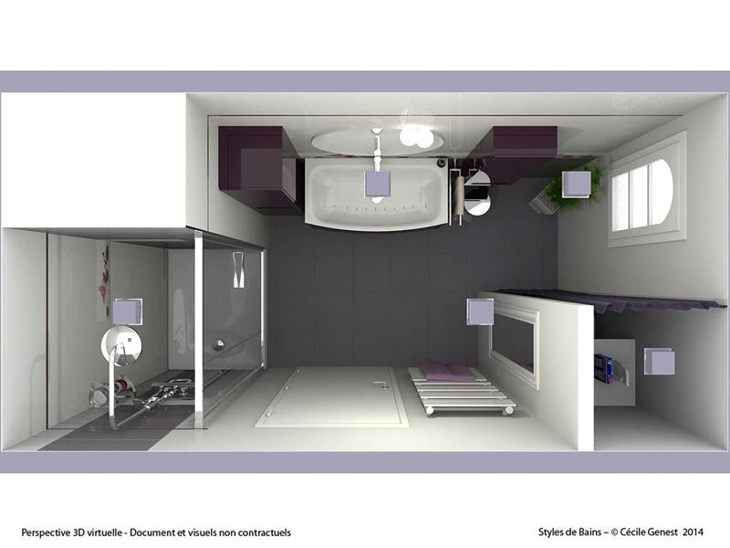 Salle de Bain Rennes - NOS REALISATIONS en rénovation et création ...