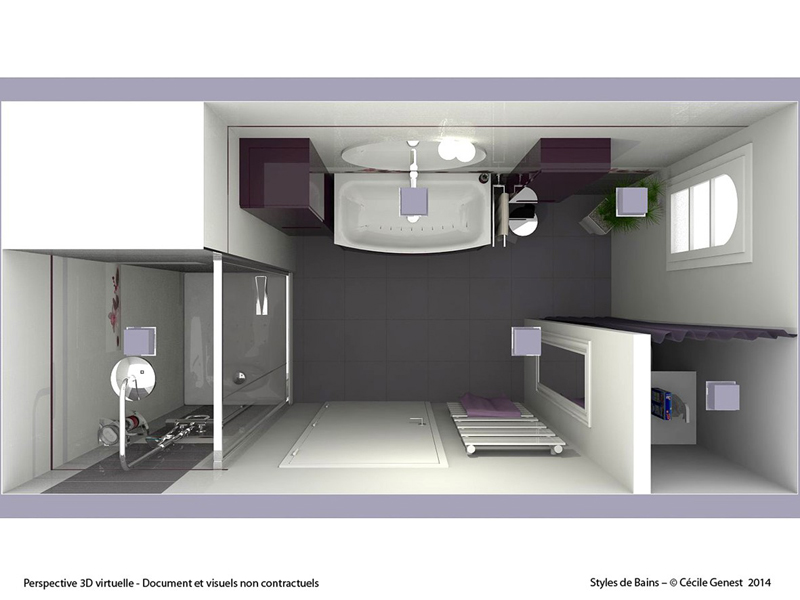 Simulation 3d Salle De Bain Stunning With Simulation 3d