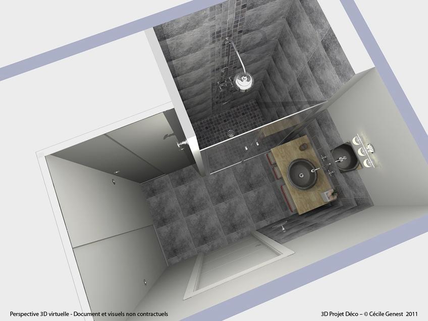 Salle de bain rennes nos r alisations d couvrez nos salles for Simulation salle de bain 3d