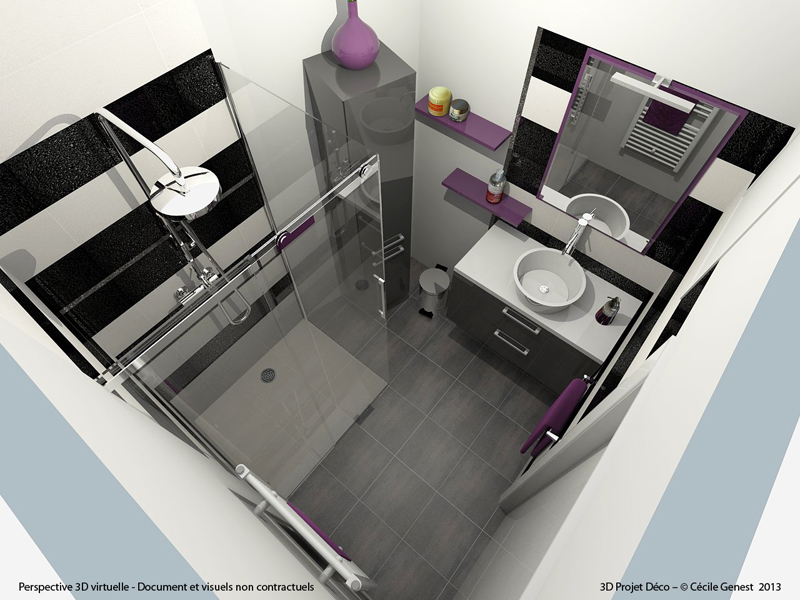 salle de bain rennes nos realisations en r novation et. Black Bedroom Furniture Sets. Home Design Ideas