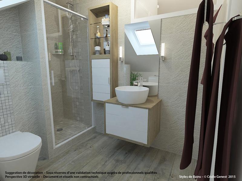 Simulateur salle de bain 3d stunning sol vinyle salle de for Amenager sa salle de bain en 3d gratuit